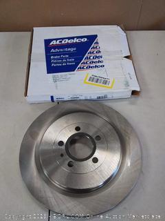 ACDelco® 18A80990A - Advantage™ Vented Rear Brake Rotor