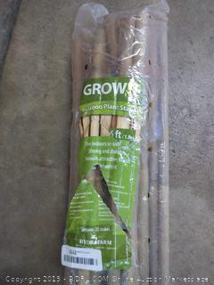 grow it bamboo plant Stakes 6 ft(wall A)