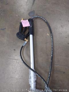AR North America Blue Clean Pressure Washer Crane Telescope