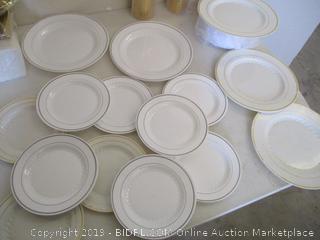 Plastic Tableware Set