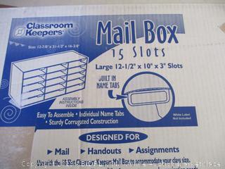 Mail Box 15 Slots