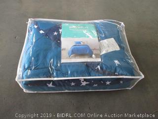 Reversible Seersucker Comforter Set