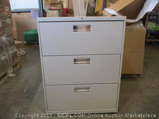 Filing Cabinet (With Key)