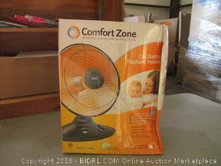Oscillating Radiant Heater