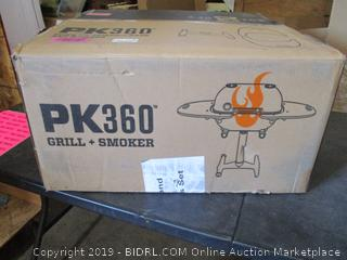 PK Grils Charcoal Grill and Smoker Combination
