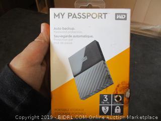 My Passport Portable Storage