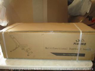 Multifunctional Dumbell Bench (Box Damaged) (Sealed)