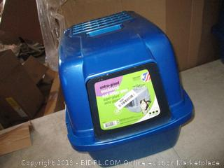 Extra-Giant Enclosed Cat Litter Pan