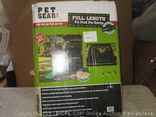 Pet Gear Full-Length Tri-Fold Pet Ramp