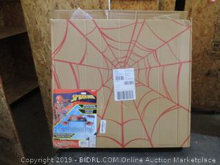 Spider-Man Folding Table and 2 Folding Chairs