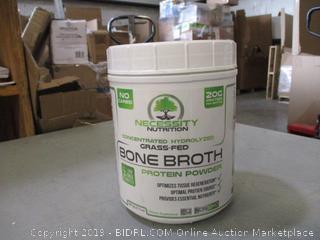 Grass Fed Bone Broth Protein Powder (Sealed)