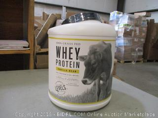 100% Grass Fed Whey Protein Vanilla Bean (Sealed)