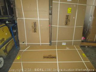 Spalding large basketball game items - please preview