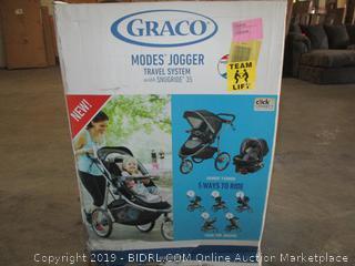 Graco modes jogger travel system - box damage