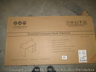 essential computer desk, espresso - slight damage