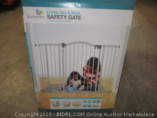 extra tall & wide safety gate