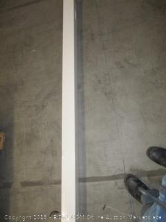 vinyl PVC real estate signpost