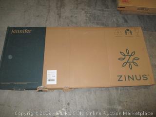 Zinus Jennifer espresso soho rectangular table