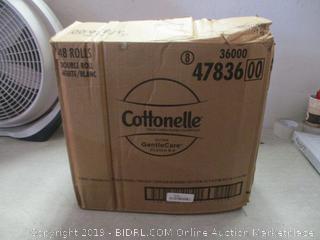 Cottonelle double roll toilet paper, 48 pack