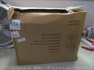 black mesh office chair - box damage