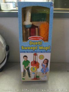 melissa & doug children's cleaning play set