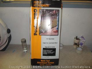Weed n edge edger attachment - box damage