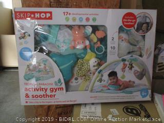 Skip-Hop activity gym & soother