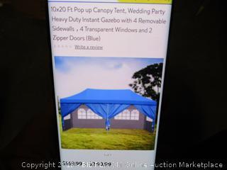 10x20 Pop Up Canopy Tent