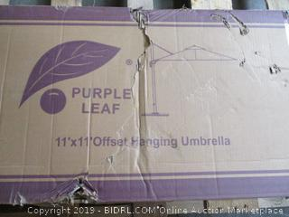 11'x11' Offset Hanging Umbrella