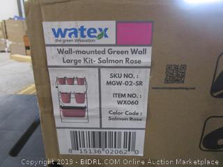 Watex wall Mounted Green wall large Kit