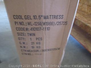 "Cool Gel 10.5"" Mattress, Twin"