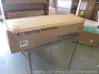 "Linenspa 6"" Spring Mattress, Twin"