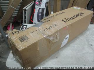 "Linenspa Twin 8"" Spring Memory Foam Hybrid Mattress"