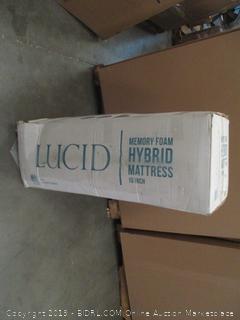 Lucid Memory foam Hybrid Mattress twin