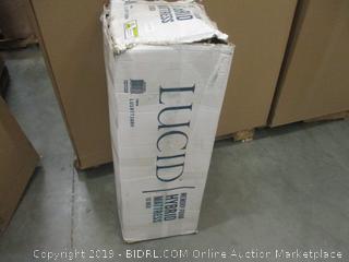 Lucid Memory Foam Hybrid Mattress Twin factory sealed