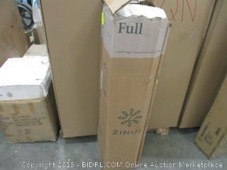 "Zinus 8"" Memory Foam Mattress full factory sealed"
