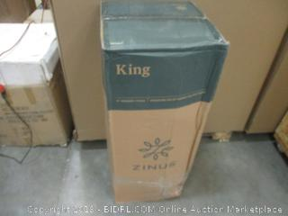 "Zinus King 6"" Memory Foam Mattress Factory Sealed"