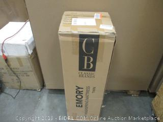 """Classic Brand  6"""" Innerspring Mattress Twin  factory sealed"""