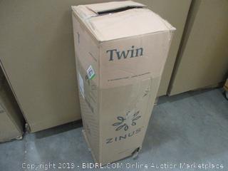 """Zinus twin 8"""" Gel Memory Foam Mattress factory sealed"""