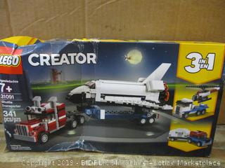 Lego Creator  Box damage, possibly missing pieces