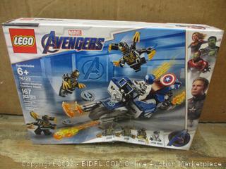 Lego Avengers box damage
