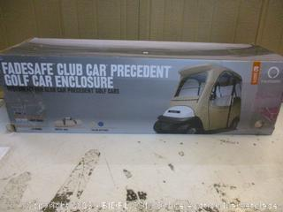 Fadsafe Club Car precedent golf Car enclosure