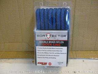 Boat Tector double braid Nylon Dock Line