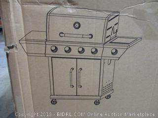 Royal Gourmet GG4302S 4 Propane Gas Grill with Side Burner, 57,000BTU, Stainless Steel (Retail $223.00)