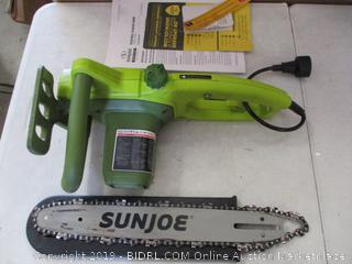 Sun Joe SWJ599E 14 Inch 9 Amp Electric Chainsaw