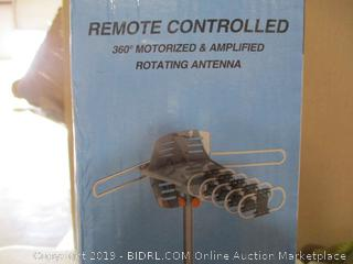 Remote Controlled Rotating Antenna