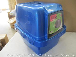 Enclosed cat Litter Pan (Missing 1 of 4 Latches)