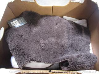 Box Lot Rug, Toilet Seat Cover