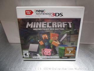 Minecraft Nintendo 3DS Game