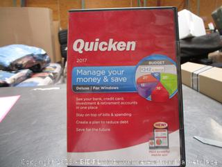Qucken 2017 Manage Your Money And Save